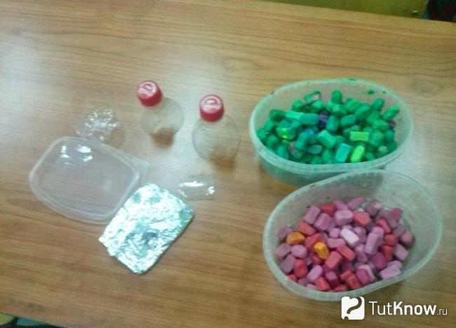 Заготовки для пластилинового замка