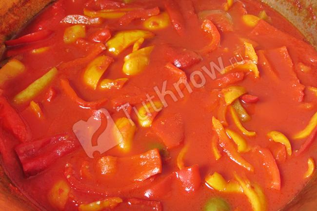лучший рецепт лечо из помидор и перца