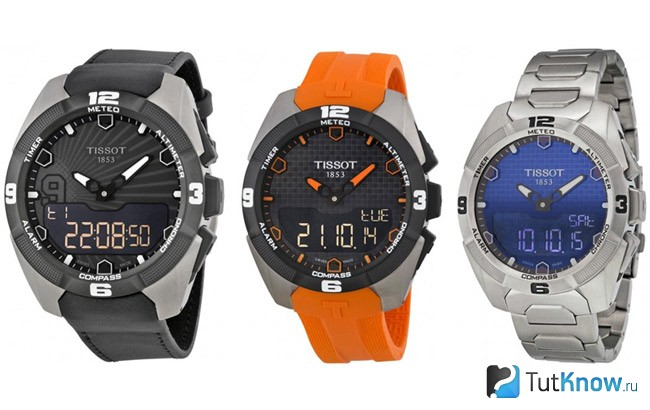 Часы Tissot T-touch Collection