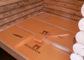 Можно ли утеплить потолок в бане пеноплексом