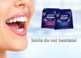 Улыбка и Crest Whitestrips